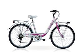 City Bike SpeedCross Fashion 28 6V Bianco Viola