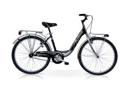 City Bike SpeedCross Fashion 28 6V Nero Silver