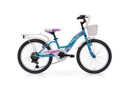 City Bike SpeedCross Kimberly 20 6V Azzurro