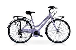 City Bike SpeedCross My Way Donna 28 24V Lilla