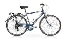 City Bike SpeedCross My Way Uomo 28 24V Blu