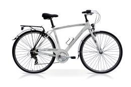 City Bike SpeedCross Season Uomo 28 21V Bianco
