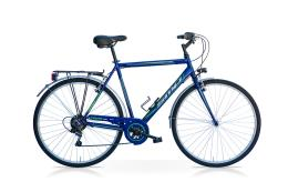 City Bike SpeedCross Tiempo Uomo 28 6V Blu Verde