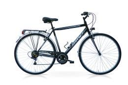City Bike SpeedCross Tiempo Uomo 28 6V Nero Bianco