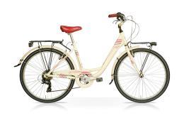 City Bike SpeedCross Venus 26 1V Crema Bordeaux