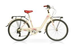 City Bike SpeedCross Venus 26 7V Crema Bordeaux