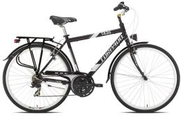 City Bike Torpado Partner 28 Uomo 21V Nero