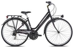 City Bike Torpado Partner Next 28 Donna 21V Nero