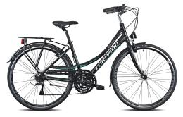 City Bike Torpado Rondine 28 Donna 21V Nero Acquamarina