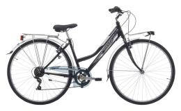City Bike Trekking Cinzia Trend 28 Donna 6V Nero