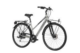 City Bike Trekking Lombardo Milano Donna 28 24V Grigio Antracite