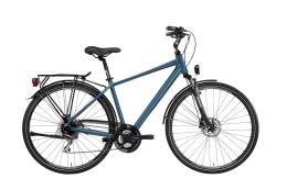 City Bike Trekking Lombardo Milano Uomo 28 24V Verde Opaco