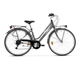City Bike Trekking Lombardo Mirafiori 250 Donna 28 6V Antracite Grigio