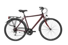 City Bike Trekking Lombardo Taranto Uomo 28 24V Bordeaux