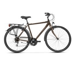 City Bike Trekking Lombardo Taranto Uomo 28 24V Marrone