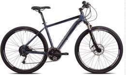 City Bike Trekking Torpado Crossfire Deore Mix 24V Grigio