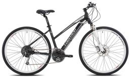 City Bike Trekking Torpado Crossfire Donna 24V Nero