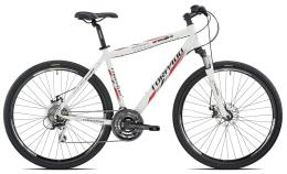 City Bike Trekking Torpado Crossfire Man Acera 21V Bianco