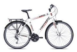 City Bike Trekking Torpado Sportage 28 Uomo 21V Bianco