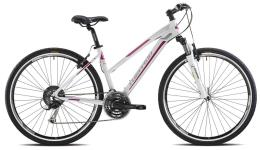 City Bike Trekking Torpado Sportage Donna Alivio 24V Bianco