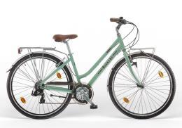 City Bike Vintage Bianchi Spillo Rubino Deluxe Lady 21V Celeste