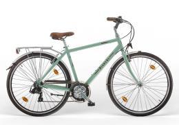 City Bike Vintage Bianchi Spillo Rubino Deluxe Man 21V Celeste