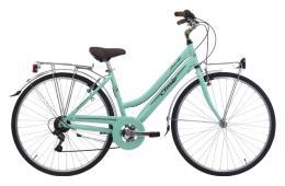 City Bike Vintage Cinzia Amalfi 28 Donna 6V Verde Pastello