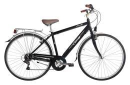City Bike Vintage Cinzia Amalfi 28 Uomo 6V Nero