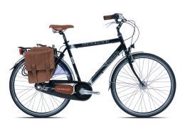 City Bike Vintage Torpado Storica 28 Uomo 7V Nero