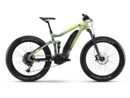 Fat Bike Eletrica Haibike FullFatSix 26  Canarino bambu Opaco