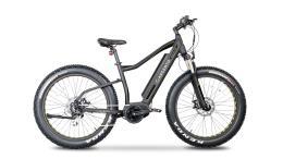 Fat Bike Elettrica Argento Elephant Pro 26x4.0 Gialla