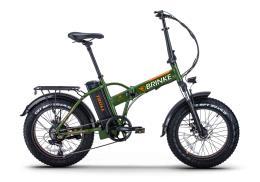 Fat Bike Elettrica Brinke Troll 20 48V 250W Verde