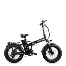 Fat Bike Elettrica DME Vulcano V2.8.3 Nero