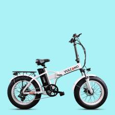 Fat Bike Elettrica DME Vulcano V2.8.4 20 Bianca