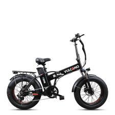 Fat Bike Elettrica DME Vulcano V4.2.1 250W 48V Nera