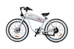 Fat Bike Elettrica Electri Extra Bold 26 7V Brushless Bianco