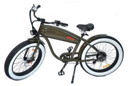 Fat Bike Elettrica Electri Extra Bold 26 7V Brushless Verde