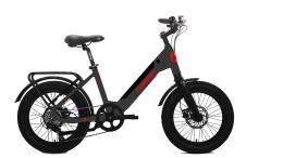 Fat Bike Elettrica Lombardo Aurelia 7V Titanio Opaco