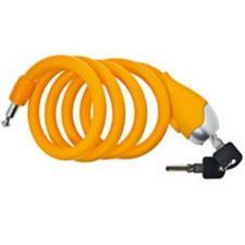 Lucchetto Spirale BRN in Silicone Arancio