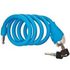 Lucchetto Spirale BRN in Silicone Blu