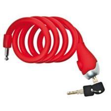 Lucchetto Spirale BRN in Silicone Rosso