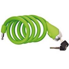 Lucchetto Spirale BRN in Silicone Verde Opaco