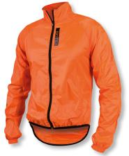 Mantellina Biotex Antivento Arancio Fluo