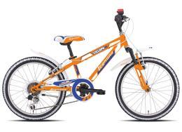 Mountain Bike Bambino Legnano Ciclope 20 6V TY21 Arancio Blu