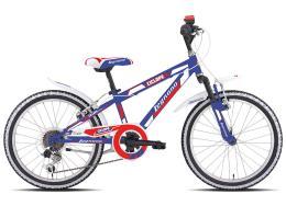 Mountain Bike Bambino Legnano Ciclope 20 6V TY21 Blu Rosso