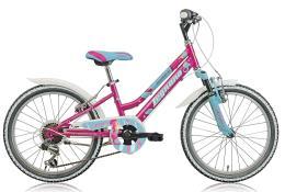 Mountain Bike Bambino Legnano Seahorse 20 6V TY21 Fucsia Azzurro