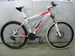 MTB Canmore 26  bianco rosso