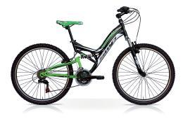MTB SpeedCross Climbe 26 21V Nero Verde