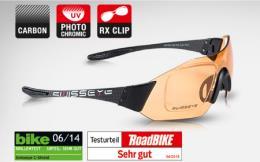 Occhiali Swisseye C-Shield RX Carbonio Nero Photocromatico