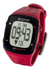 Orologio Cardiofrequenzimetro Sigma ID Run HR Rosso
